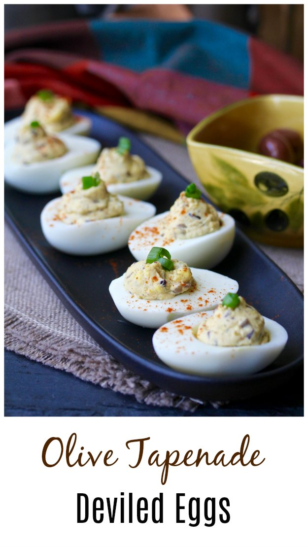 Deviled Eggs with Olive Tapenade