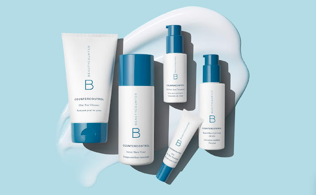 Countercontrol products by Beautycounter for blemish-prone and oily skin.