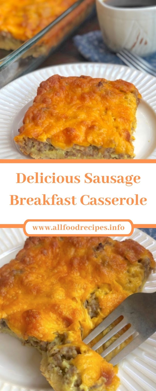 Delicious Sausage Breakfast Casserole