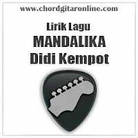 Lirik Lagu Didi Kempot Mandalika