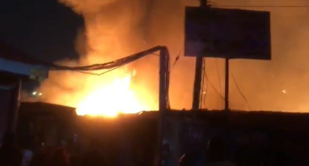 Dawn fire destroys Odawna market