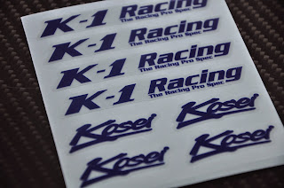 K1 Racing - Kosei Sticker 9