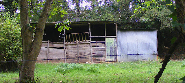 Rustic stable, Indre et Loire, France. Photo by Loire Valley Time Travel.