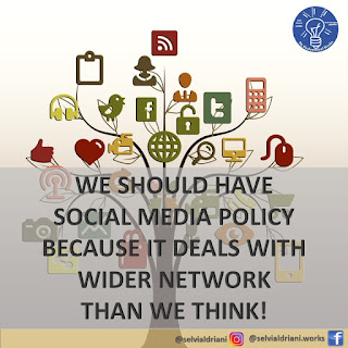 We should have Social Media Policy