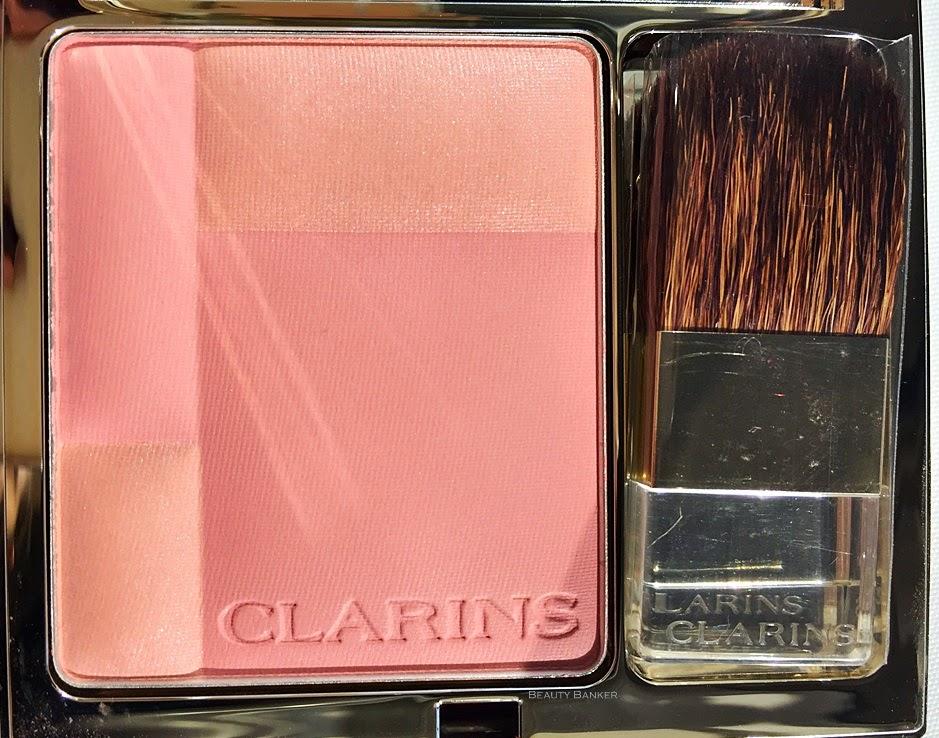 Clarins Blush palette in Sweet Rose