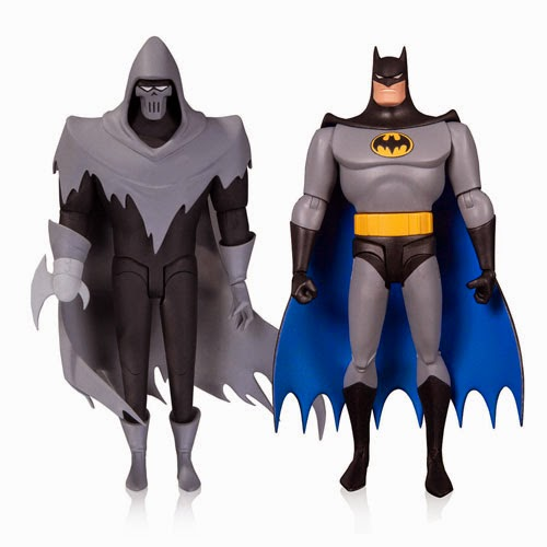 "Batman: The Animated Series Wave 5 6"" Action Figures - Batman: The Animated Movie Mask of The Phantasm 2 Pack featuring Batman and The Phantasm"