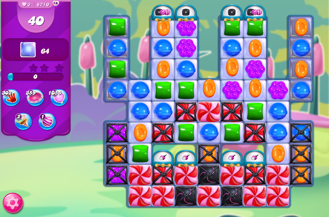Candy Crush Saga level 8710