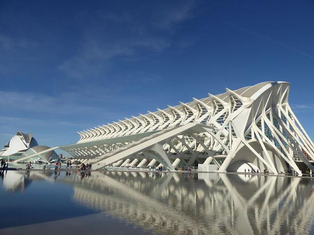 il museo delle scienze a valencia