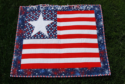Fourth Of July Wall Hanging Free Pattern At Sew Bitter Sweet Designs