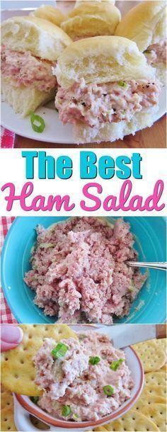 Amazing Ham Salad