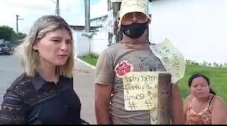 Teresa Carneiro atende pedido de Homem acorrentado e vai ao Hospital Sá Andrade em Sapé e manda recado: Prefeito se não poder governar entregue o cargo