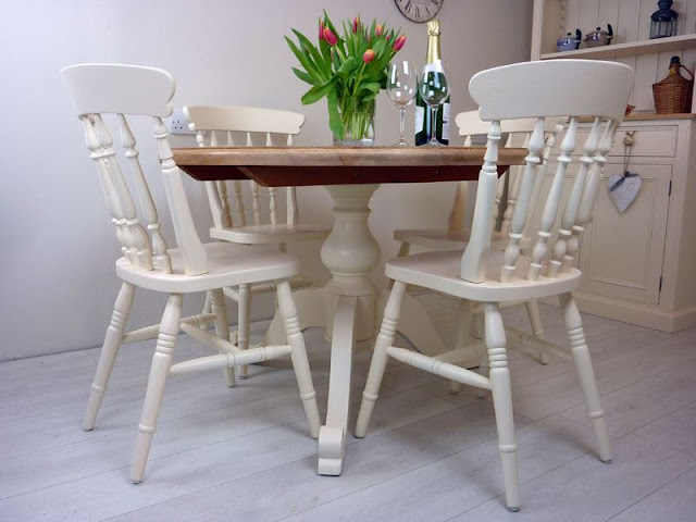Pedestal Dining Tables Pedestal Dining Tables 0005927 pine round pedestal table and 4 farmhouse chairs