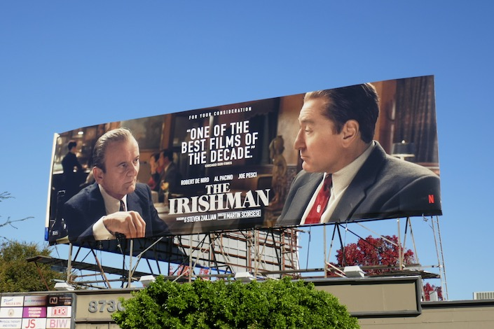 Irishman consideration billboard