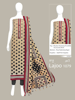 Bipson Lajoo 1079 Pashmina Winter Collection