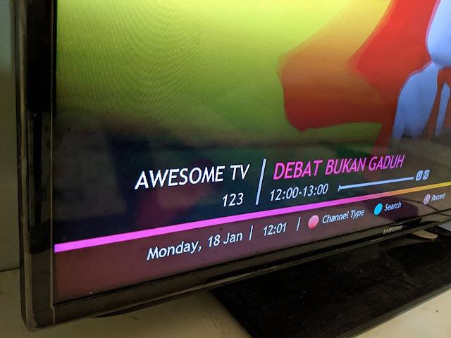 Awesome TV Kini Sudah Bersiaran Di Astro
