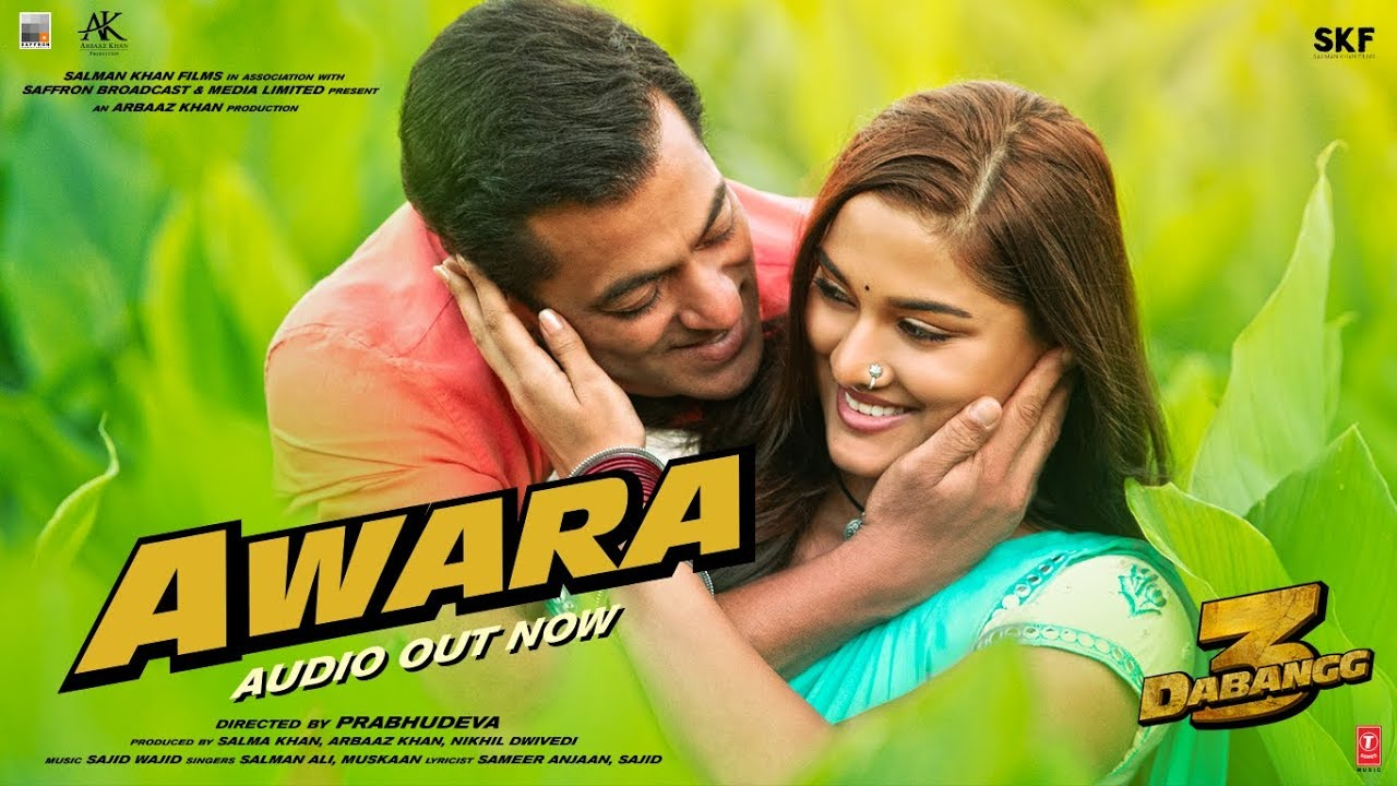 Awara Lyrics in Hindi