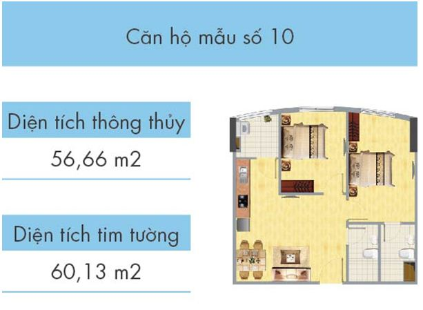 Căn hộ số 10 tòa CT1B