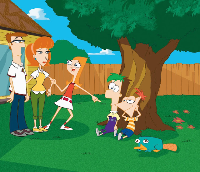 Phineas and Ferb The Movie 2011 Dual Audio English/Hindi 250MB