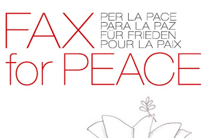 The 24th edition of the international competition Fax For Peace 2019-2020, Italy