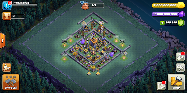 Clash of Lights - Clash of Clans Mod Apk Terbaru