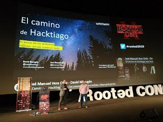 RootedCon 2020 - David Madrugán y José Manuel Vera - El camino de Hacktiago