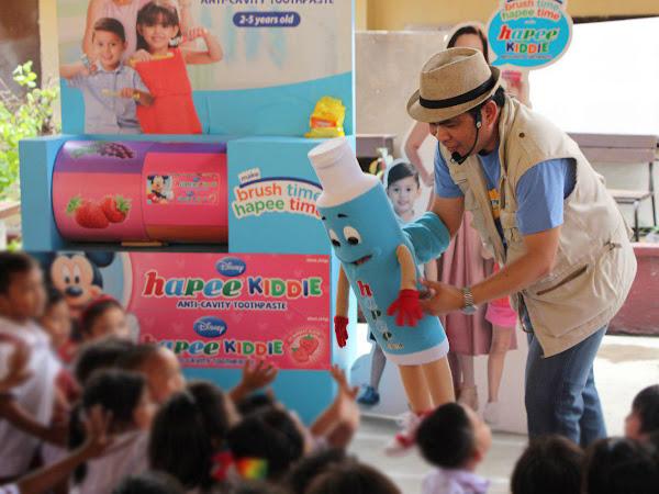 Hapee Kiddie School Caravan with Renowned Puppeteer Wanlu