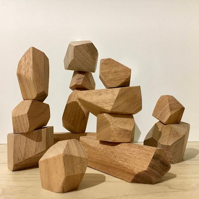Jeu de construction tumi ishi en bois 100% matériaux recyclés