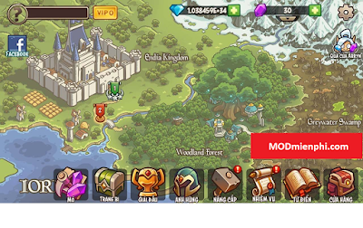 empire warriors td mod kim cương