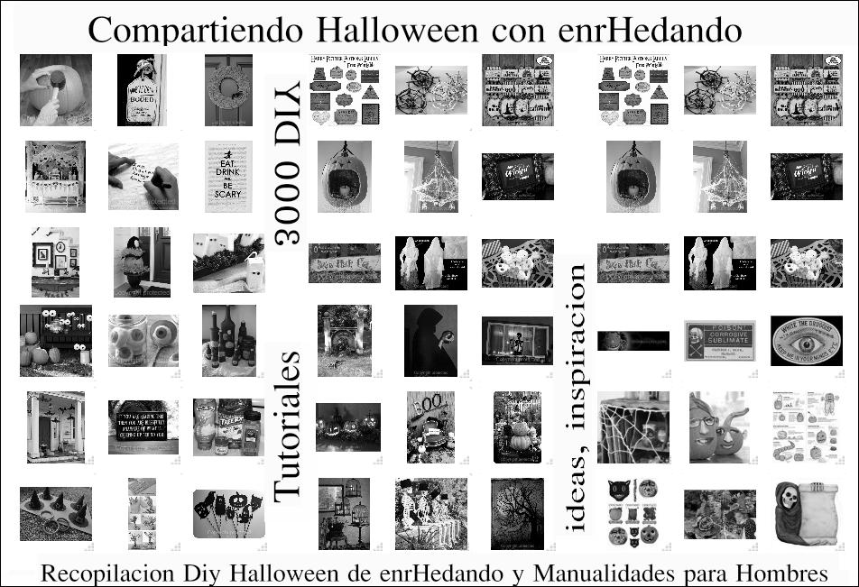 Diy-Manualidades 3000 Tutoriales Halloween 2012