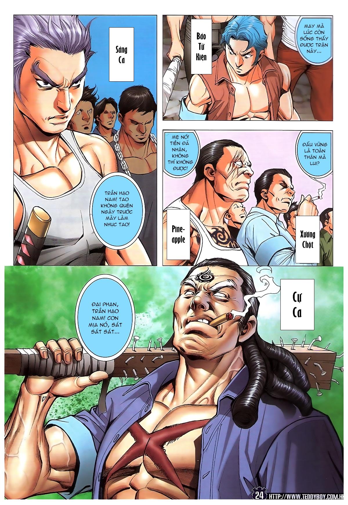 Người Trong Giang Hồ chapter 1829: khai chiến trang 21