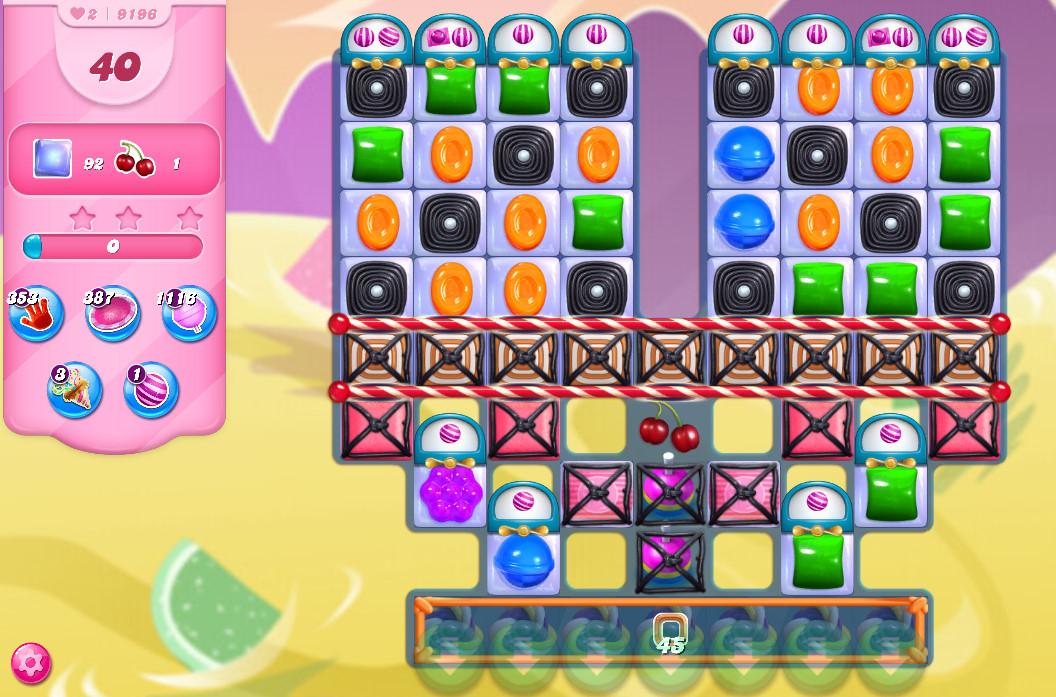 Candy Crush Saga level 9196