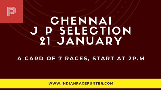 Chennai Jackpot Selections 21 January