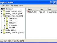Cara Mengamankan Registry Dari Tangan Jahil