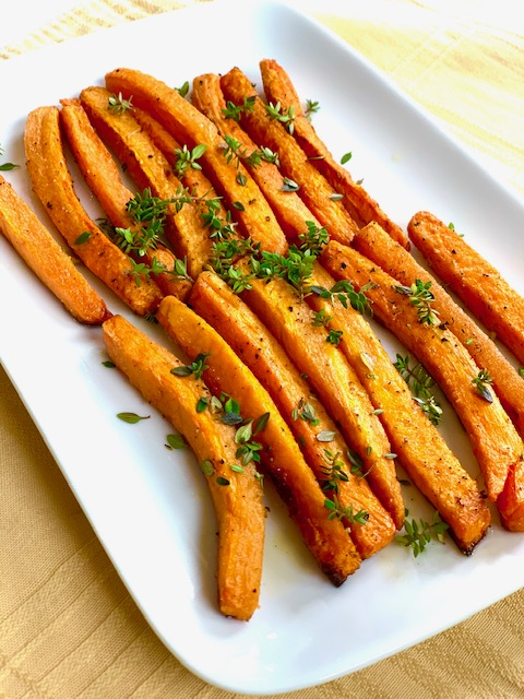 Roasted Carrots and Thyme