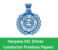 Haryana SSC Driver Conductor Previous Papers