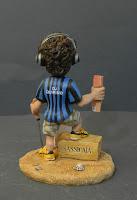 statuina personalizzata idea regalo marito calciatore orme magiche