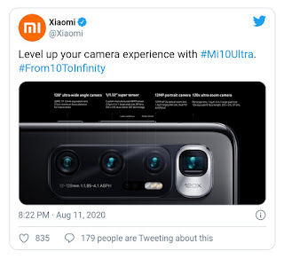 mi 10 ultra kamera