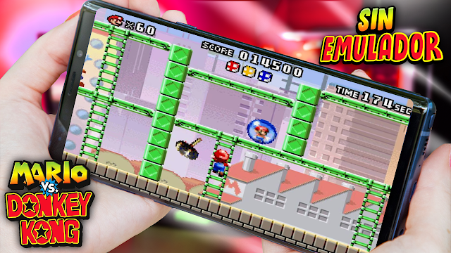 Mario vs. Donkey Kong Sin Emulador Para Teléfonos Android (Apk)