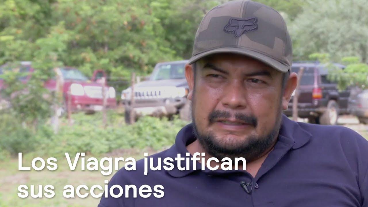 """Impuesto de guerra en Michoacán """"Los Viagras"""" anuncian multas de 1,000 pesos a quienes tengan sus autos descuidados en Buenavista"""