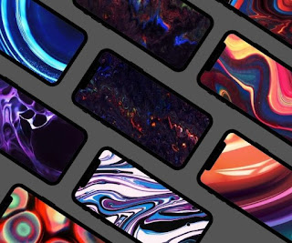 9 beautiful abstract phone wallpapers