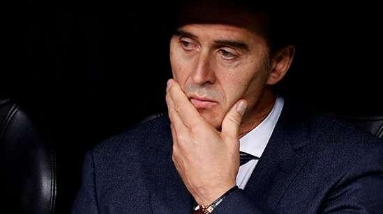 El triste final de Julen Lopetegui en el Real Madrid
