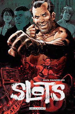 """couverture de """"SLOTS"""" de Dan Panosian chez Delcourt"""