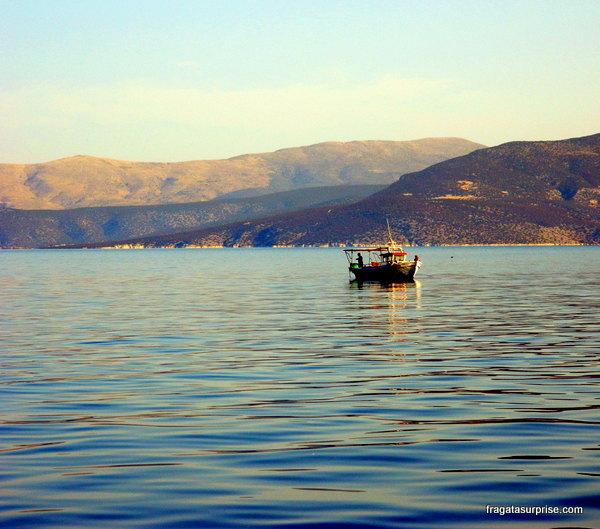 Navegação no Mar Egeu