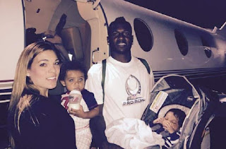 Antonio Brown's Wife Chelsie Kyriss and Kids