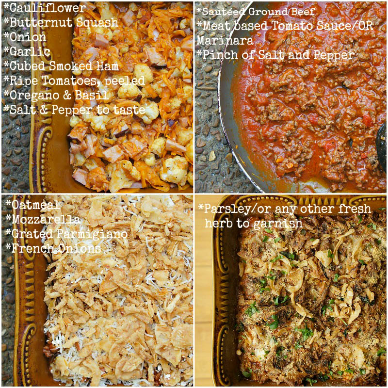 Ingredients and how to make Beef and Vegetable Casserole