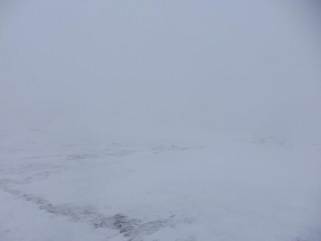 Szlak na Babią Górę - jest dość mgliście...