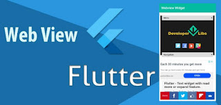 flutter web view url loading example with progress bar