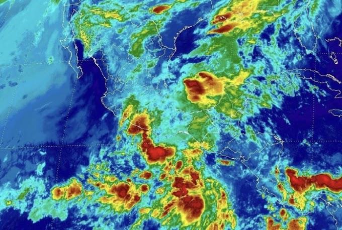 Zona de inestabilidad con probabilidad de desarrollo ciclónico al sur de las costas mexicanas