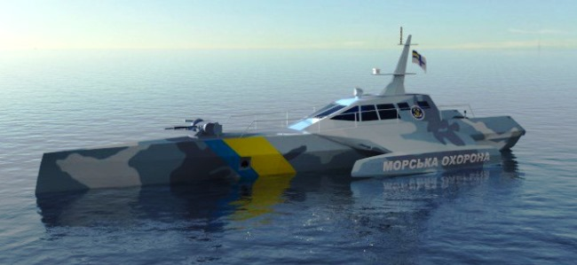 UNIK Yachts катер для морської охорони