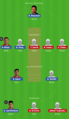 NEP vs SIN dream 11 team | SIN vs NEP
